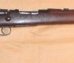 Boer Mauser carbine made for the Z.A.R., calibre 7 x 57 mm.