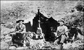 Boer Scouts on picquet