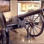 Boer gun captured by Australian troops on display in the Australian War Musuem.