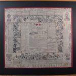 Lee-Metford souvenir handkerchief produced during the War.